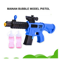 Mainan Anak Bubble Gun shoot buble Mainan Tembakan Balon Sabun Pistol