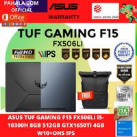 ASUS TUF FX506LI-I55TB6T-O i5-10300H 8GB 512GB GTX 1650 Ti 4GB +OHS