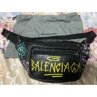 Balenciaga Graffiti Bumbag Authentic