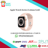 Apple Watch Series 6 40mm Gold Aluminum with Sport Band