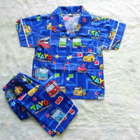 Piyama Anak Tayo/Baju Tidur Anak Laki Laki