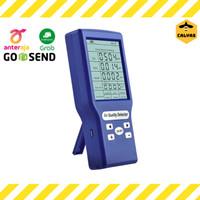 Alat Pengukur Kualitas Udara Air Detector Co2, TVOC, HCHO, AQI, Suhu - Biru