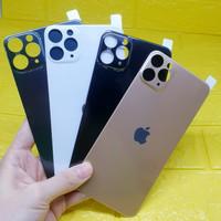 BackDoor Jelly Anti Gores Belakang IPHONE 11 PRO MAX 6.5 BACK SKIN