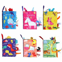 Ykn Mainan Bayi Buku Kain Softbook Cloth Book Mainan Edukasi