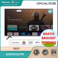HISENSE Smart TV 40 Inch - Khusus Pengiriman Luar Jakarta