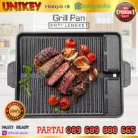 Happy Call DESSINI 32 cm Made in Italy GRILL DOUBLE SIDED PAN