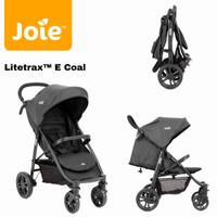 Stroller Joie Litetrax E Coal / kereta dorong bayi
