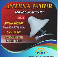 ANTENA INDOOR ANTENA JAMUR 5DBi 5 dbi GSM REPEATER
