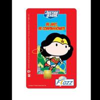Kartu Flazz Limited Edition Justice League Wonder Woman 2021 Berlogo B