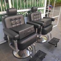 Bantal duduk anak/Bantal kursi cukur/Bantalan duduk anak kursi hidolik - Hitam
