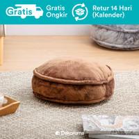 Dekoruma Fumi Round Floor Cushion | Bantal Lantai