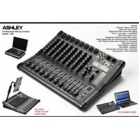 Mixer ashley LM8 original LM 8 channel usb bluetooth free koper tebal