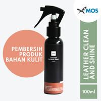 X-MOS Leather Clean & Shine 100ml - Pembersih dan perawat bahan kulit
