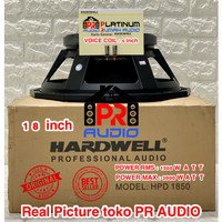 Speaker Komponen HARDWELL HPD 1850 HPD1850 ORIGINAL 18 inch Component