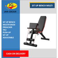 bangku sit up multifungsi adjustable bench bangku fitness