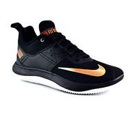 Sepatu Baket Nike Fly By Low II (Black Gold)