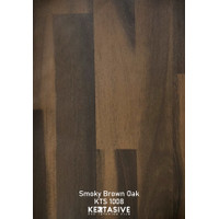 SMOKY BROWN OAK - KERTASIVE PVC INTERIOR FILM 122 CM