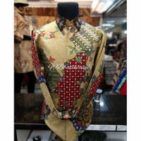 Baju batik pria lengan panjang,baju batik premium,bati exclusive. - pria, S