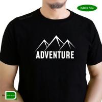 kaos tshirt baju distro pria cowok laki laki pendaki adventure gunung