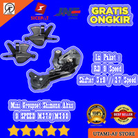 Mini Groupset 9 Speed Shimano Altus M370/M390 (OEM)