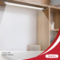 SINTE Lampu Neon LED USB Ada Magnet Untuk Belajar Tempel Emergency