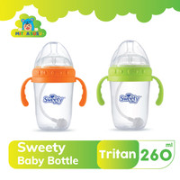 Sweety Bottle Extra Wide With Handle 260ml