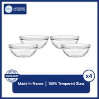 DURALEX Mangkok / Piring Stackable Bowl 9 cm (isi 4 pc)
