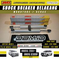 Shock Breaker Monotube JAMEX Belakang GAS Innova 2004+ & Reborn