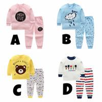 Setelan Panjang/Baju Tidur Anak Bayi Murah 6 Bulan - 1 Tahun