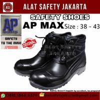 Sepatu Boot Safety AP MaX sepatu pria murah - 39