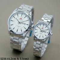 Jam tangan Couple Swiss Army 5216 Harga sepasang