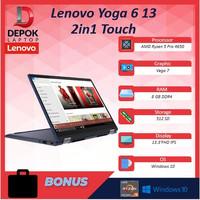 Lenovo Yoga 6 13 2in1 Touch Ryzen Pro 5 4650 8GB 512ssd Vega7 13.3FHD