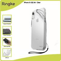 Ringke Casing iPhone Xs Xs Max Xr Air Softcase Anti Crack Tipis Slim - Xr-Clear