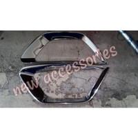 cover ring foglamp Datsun go chrome