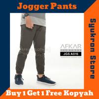 Celana Pria Sirwal Jogger Panjang Pria Slim fit By Afkar Clothes
