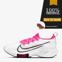 CI9924-102 Sepatu Running Nike Air Zoom Tempo NEXT% - White/Black-Pink