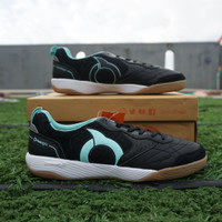Sepatu Futsal Ortuseight Jogosala Rampage Black Mint Original