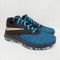 Sepatu Basket Nike Air Max Infuriate III (Black Blue)