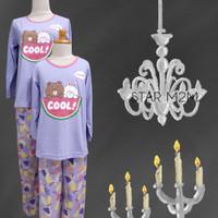 Baju Tidur Anak Perempuan (Line Cool) St. Lgn Pjg Cln Pjg