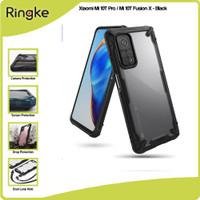 Ringke Xiaomi Mi 10T Pro / Mi 10T Fusion X Anti Crack Softcase Hybrid - Black