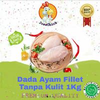 Dada Filet Tanpa Kulit / Dada Ayam Boneless / Filet Dada Ayam