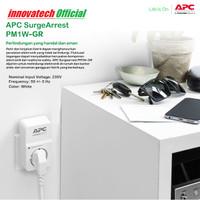 APC Surge Protector PM1WGR PM1W-GR colokan anti petir stop kontak