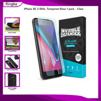Ringke iPhone SE 2 / 8 / 7 Tempered Glass 9H Screen Protector pack