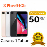 iPhone 8 plus 64GB Garansi Distributor 1 Tahun Silent Camera