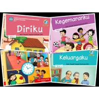 PAKET Buku Tematik Siswa SD Kelas 1 Semester 1