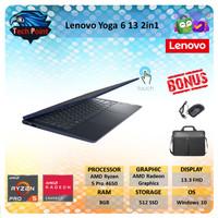 Lenovo Yoga 6 2in1 Ryzen Pro 5 4650 8GB 512GBssd Vega6 13.3 FHD Fabric
