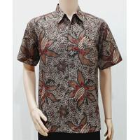 Kemeja Hem Baju Seragam Pria Batik Kantor Formal 2946 BIG SIZE