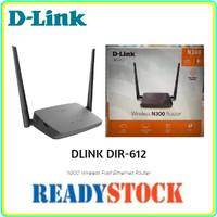 DLINK DIR-612 Wireless N Router 300Mbps 2x 5dBi Antenna