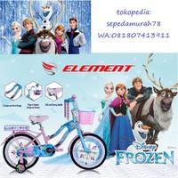 Sepeda Anak Frozen 1 Ukuran 18 Sepeda Element Frozen 1 Ukuran 18