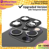 Cover Camera iPhone 12 Pro Max Pro Mini Getgard Tempered Glass Kamera